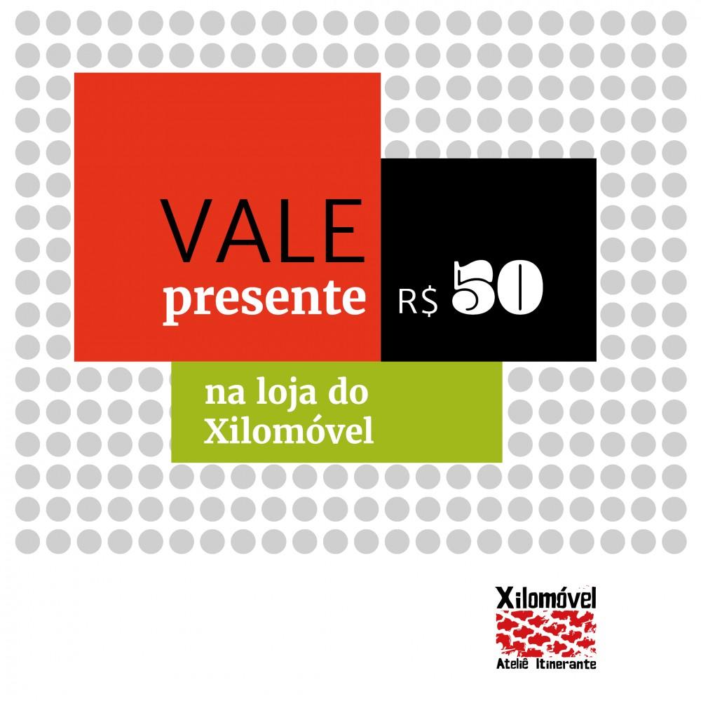 Vale Presente - 50,00 Reais
