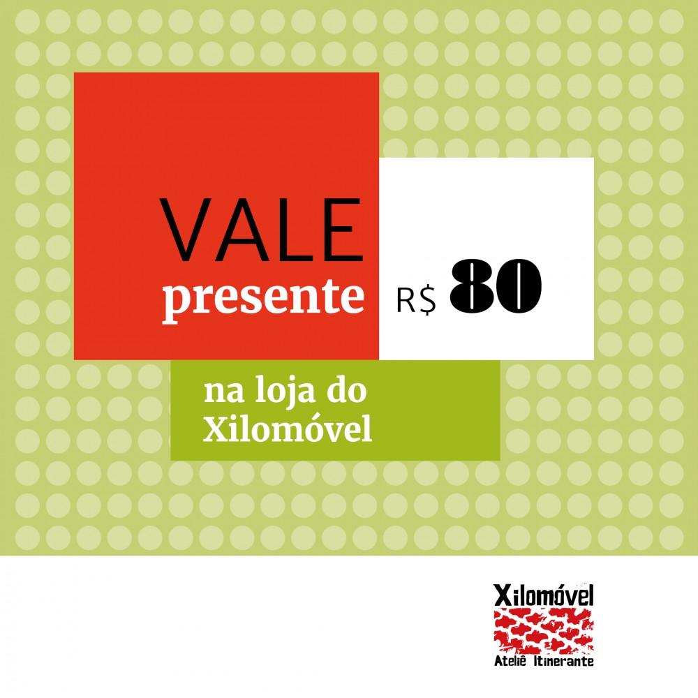 Vale Presente - 80,00 reais