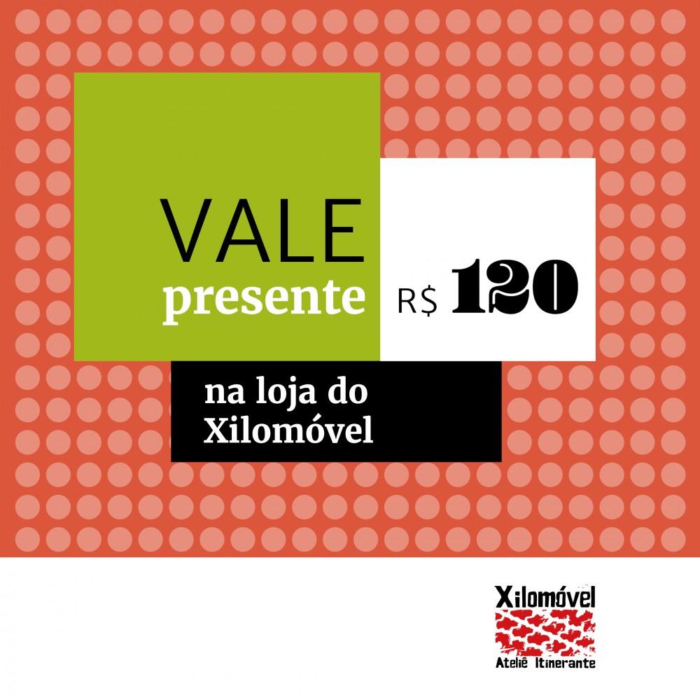 Vale Presente - 120,00 Reais
