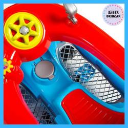 🚙 Fusca Azul - Carrinho de Passeio e Quadriciclo