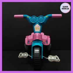 ✨Motoca Princesa- Triciclo com Empurrador