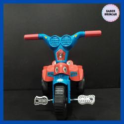 ✨Motoca Homem-aranha - Triciclo com Empurrador