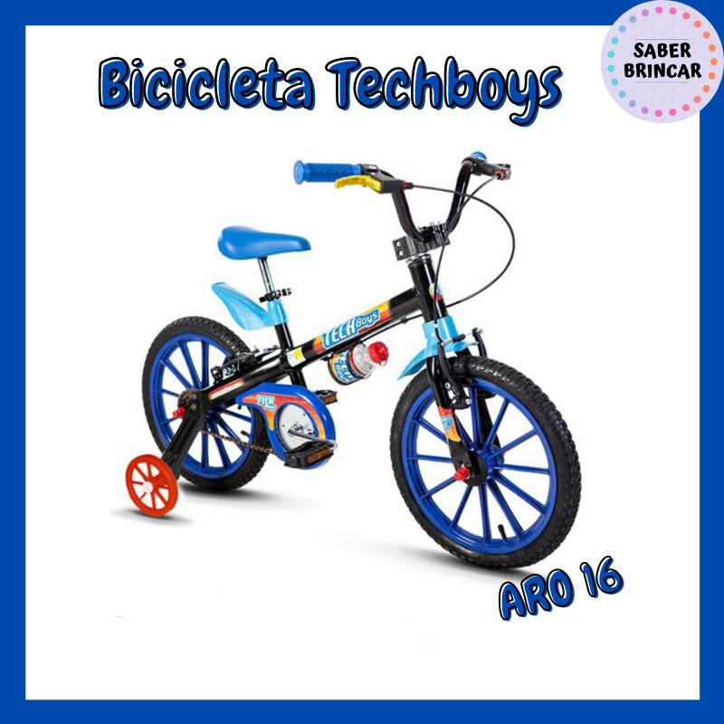 ✨ Bicicleta Techboys - Aro 16