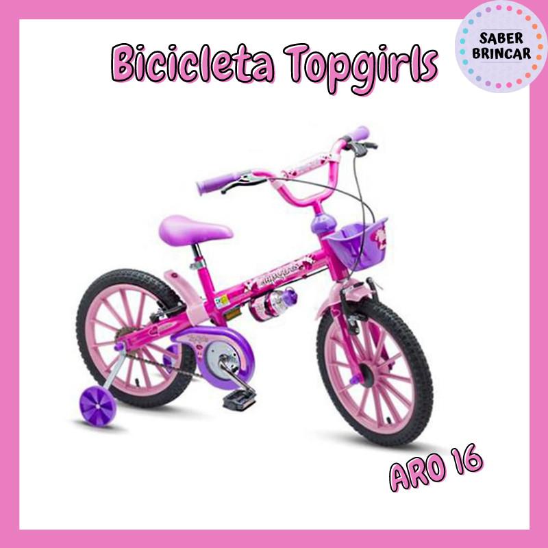 ✨ Bicicleta TopGirls - Aro 16