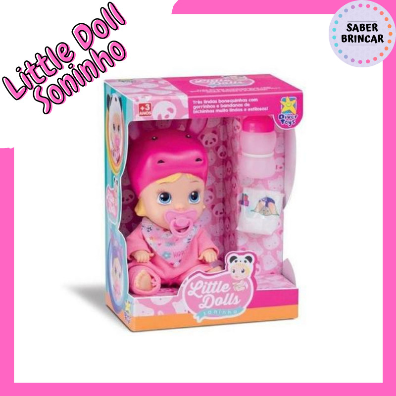 👸Boneca Little Dolls Soninho