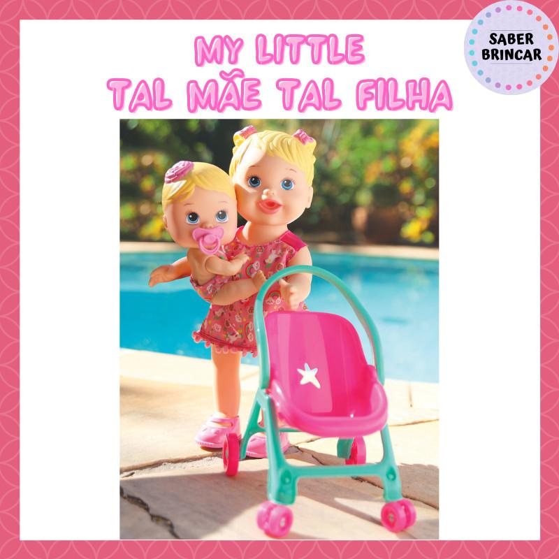👸Boneca My Little Collection Tal Mãe Tal Filha