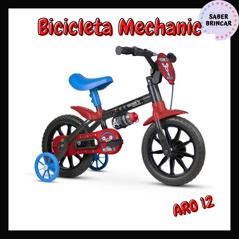 ✨ Bicicleta Mechanic - Aro 12 ✨