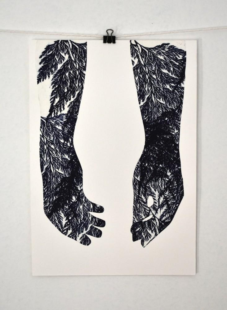 """""""Mãos - série Flutuar"""" Luciana Bertarelli"""