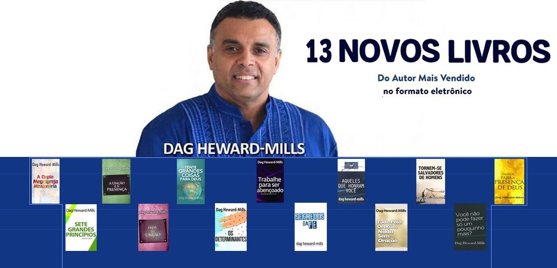 13 novos livros