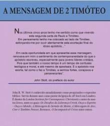 A Mensagem de 2a Timóteo (John Stott)